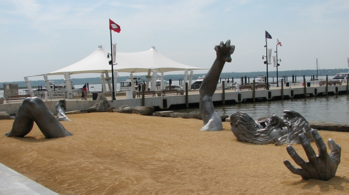 July 2015 john mcgowan for Awakening sculpture national harbor